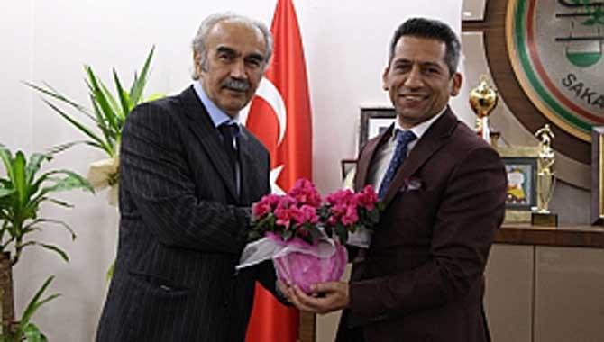 Kocaeli Adalet Komisyonu Başkanından Başkan Burak'a ziyaret