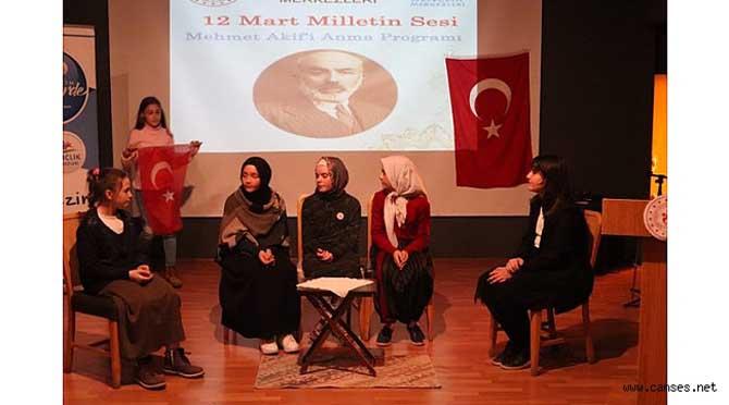 M.Akif Ersoy'u Anma Programı Gerçekleşti