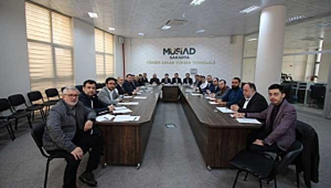 MÜSİAD' ın 9 Şubesi Sakarya'da Toplandı
