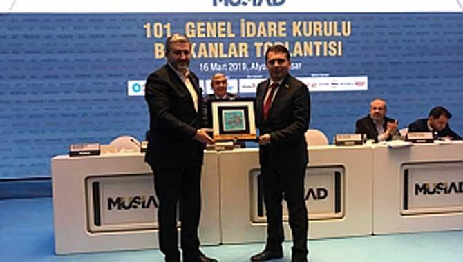 MÜSİAD Sakarya Afyon'dan Türkiye Birincisi Olarak Döndü