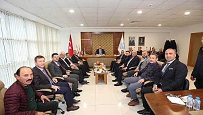 Müteahhitler Birliği AK Parti adaylarını kabul etti
