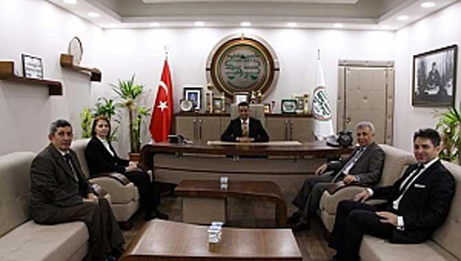 Noter Odası'ndan Başkan Burak'a Ziyaret