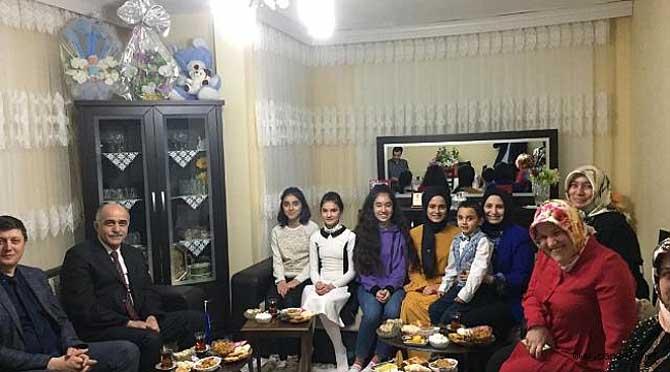 Öğrencilere Ev Ziyaretleri Devam Ediyor