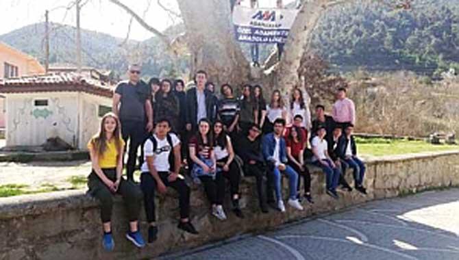 Özel Ada Mektep Anadolu Lisesi Öğrencileri Taraklıyı Gezdi