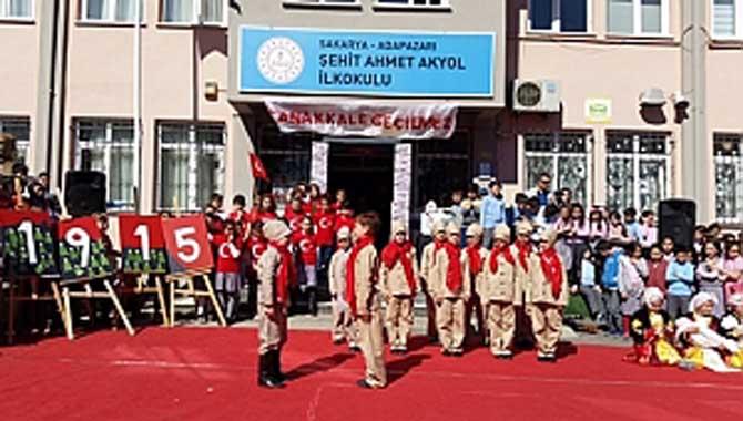 Şehit Ahmet Akyol'da Çanakkale Zaferi Programı