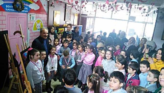 Şehit Ahmet Akyol'da Hepimiz Farklıyız Resim Yarışması