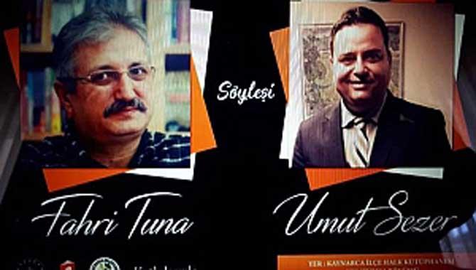Yazar Fahri Tuna Nihayet Doğduğu İlçe Kaynarca'da Söyleşi-İmza Gününde