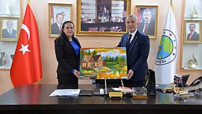 Başkan Babaoğlu'na ziyaret devam ediyor