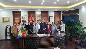 Başkan Özen'e Kadın Meclisinden Ziyaret