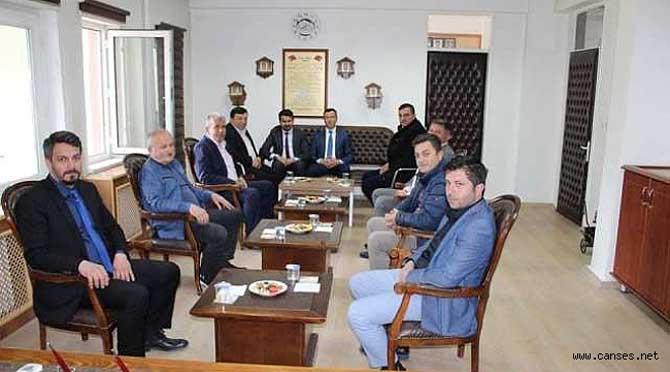 Başkan Ve Ekibi Ziyaretlerde