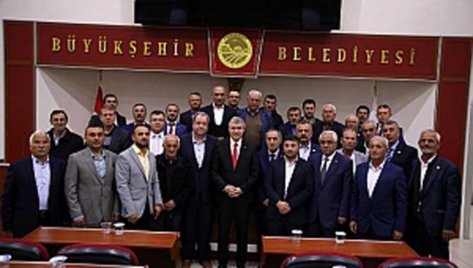 """""""Büyükşehir'in güçlü hizmet eli Pamukova'da olacak"""""""