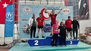 Büyükşehirli Sporcu Türkiye 2.'si Oldu