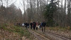 Doğaseverler Pamukova'da Buluştu