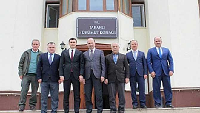 Dr Yasin Yıldız Kaymakam Oka Dağlı'yı Ziyaret Etti