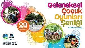 Geleneksel Çocuk Oyunları Şenliği Macera Park'ta