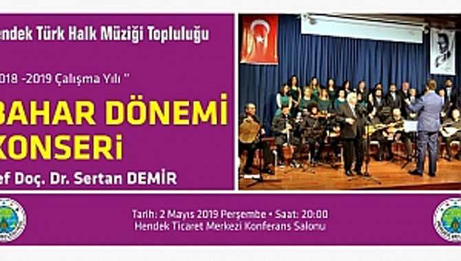 HENDEK'TE HALK MÜZİĞİ KONSERİ