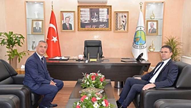 Kaymakam Orhan'dan Başkan Babaoğlu'na Ziyaret