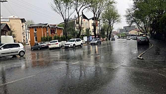Metrekareye 43 Kilogram Yağış Düştü