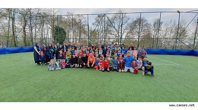 Sapanca'da Kurtköy Spor Futbol Okulu Açıldı