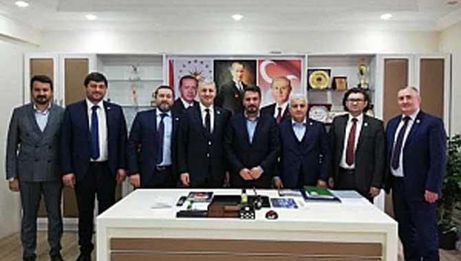 SATSO'dan Belediye Başkanı Pilavcı'ya Ziyaret