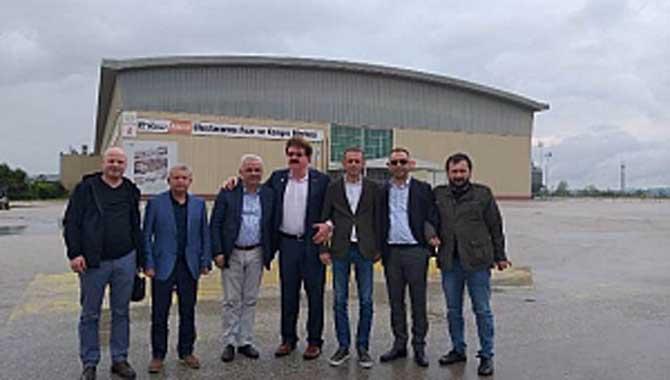SATSO Ticareti Geliştirme Komisyonu Çukurova Mobilya Yan Sanayi Fuarı'ndaydı