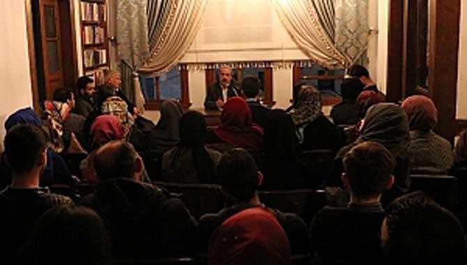 'Toplumsal Dönüşümde Sünnet' konakta konuşuldu