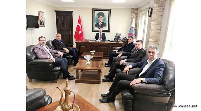 TÜMSİAD yönetimi Ferizli'de