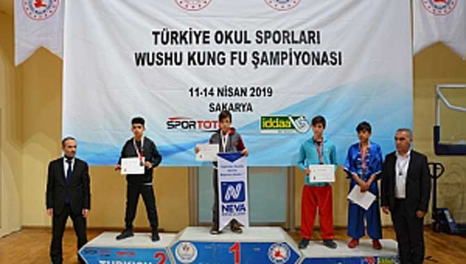 Türkiye Wushu Kung Fu Okul Sporları Şampiyonası Sakarya'da Başladı