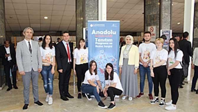 Anadolu Masalları tanıtım toplantısına Durmuş ve ilimiz öğrencileri dekatıldı