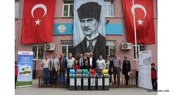 Atatürk İlkokulu'nda 'Sıfır Atık' Projesi