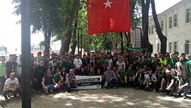 Babaoğlu'da Taraftarla Bursa'da
