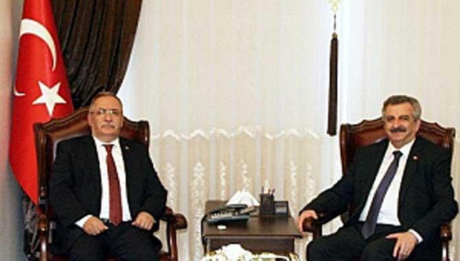 Bakan Yardımcısı Büyükdede'den Vali Nayir'e Ziyaret