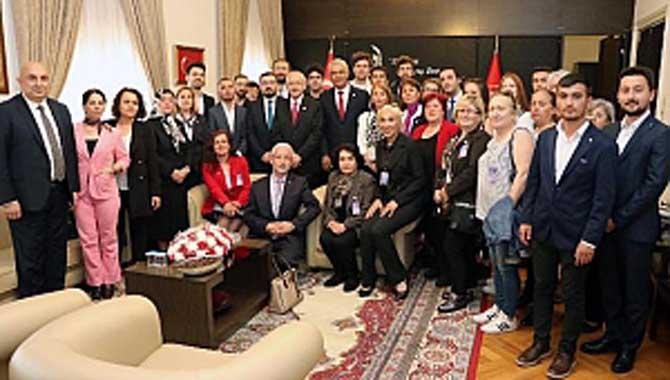 Cumhuriyet Halk Partisi Kemal Kılıçdaroğlu'nu Ziyarete Gitti