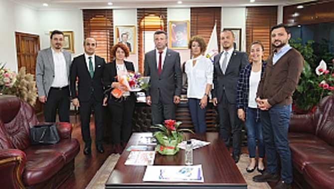 Girişimcilerden Belediye Başkanlarına Ziyaret