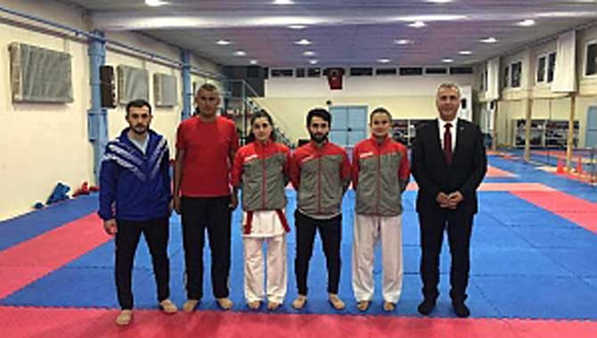 Hendekli Karateciler Dünya Yıldızları ile yarışıyor