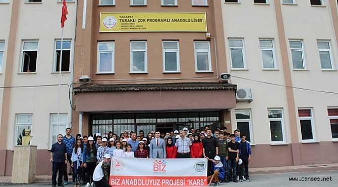 KARS İLİ'N DEN GELEN 75 ÖĞRENCİ TARAKLI'YIZ GEZDİ