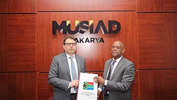 MÜSİAD Güney Afrika Büyükelçisi Müsteşarı PulengChaba'yı Ağırladı