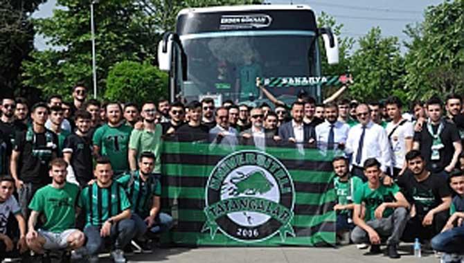 Sakarya Üniversitesi Takımının Yanında
