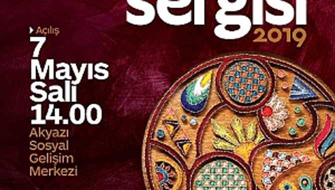 SAMEK Akyazı'dan Yılsonu Sergisi