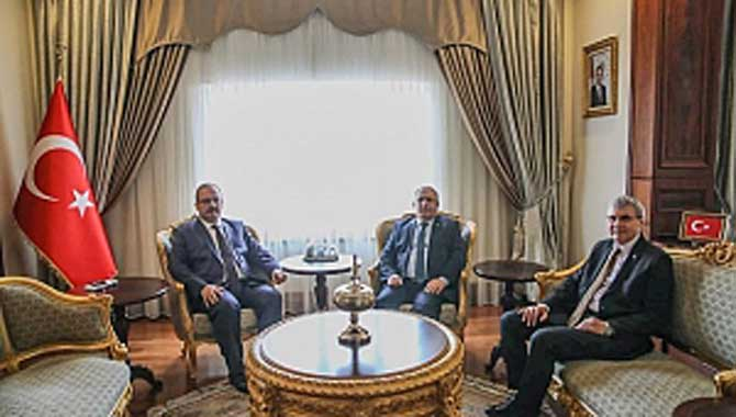 Vali Nayir Bursa'da Temaslarda Bulundu