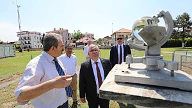 Vali Nayir'den Meteoroloji İl Müdürlüğüne Ziyaret