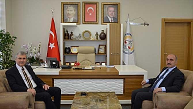Yüce'den Meclis Öncesi Kılıç'a Ziyaret