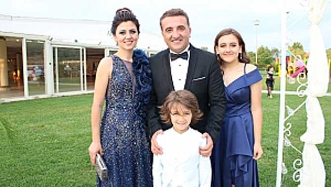 Baba Özgür Uslu'dan oğlu Poyraz Uslu'ya Muhteşem Sünnet Töreni