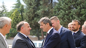 "Başkan Yusuf Alemdar, "" Bayram Muhabbettir"