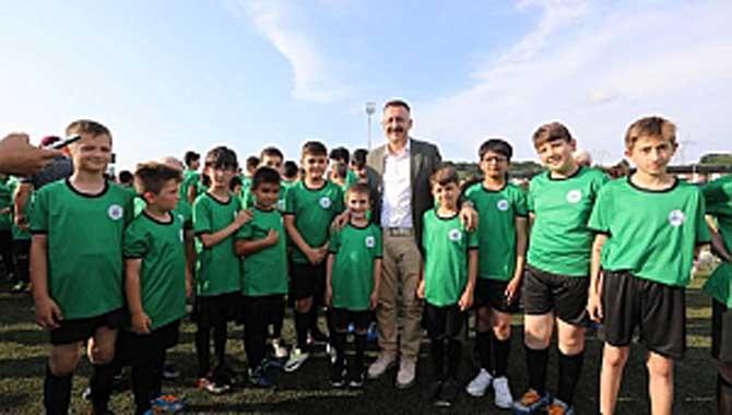 Geleceğin Futbol Yıldızları Bu Okulda Yetişecek