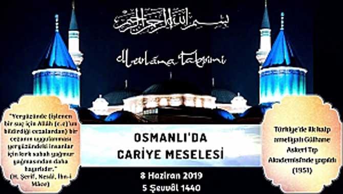 OSMANLI'DA CARİYE MESELESİ