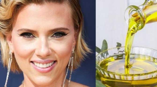 Scarlett'in sırrı zeytinyağı!