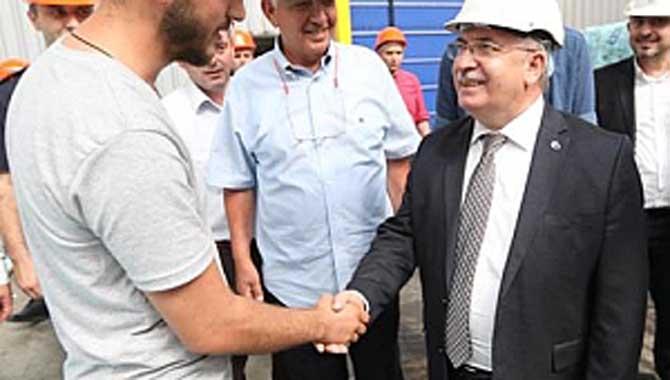 Vali Nayir Karasu'da Temaslarda Bulundu