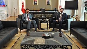 Ali İhsan Yavuz'dan Çevre ve Şehircilik Bakanı Murat Kurum'a Ziyaret