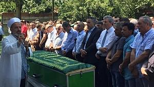 Başkan Alemdar'ın Dayısı Son Yolculuğuna Uğurlandı